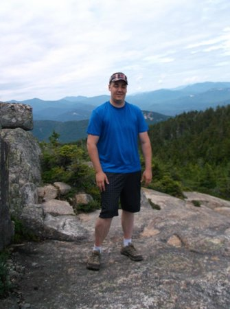 Mount Chocorua : Me at the Summit