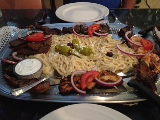 Apollo Greek Restaurant: Apollo Large for two people $54.