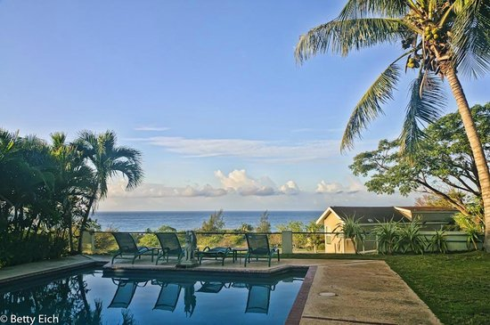 Hacienda Tamarindo: The pool -- lovely!