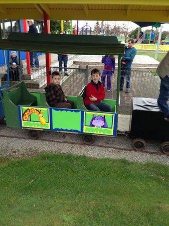 Levin Adventure Park: train at the adventure park