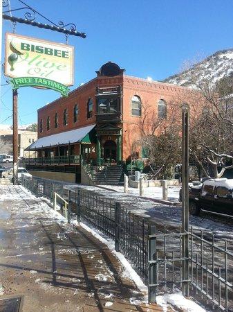 Bisbee Olive Oil : nice snowfall