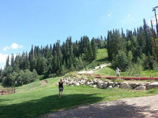 Howelsen Ski Area: Slide end