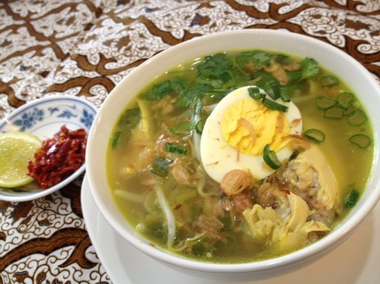 Java Warung : Soto Ayam (Chicken Soup) from Lunch Buffet