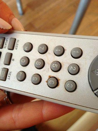 Hyde Park Suites: Remote control