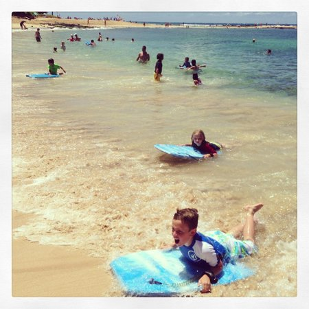 Marriott's Waiohai Beach Club: rented boogie boards (they also do surf lessons)