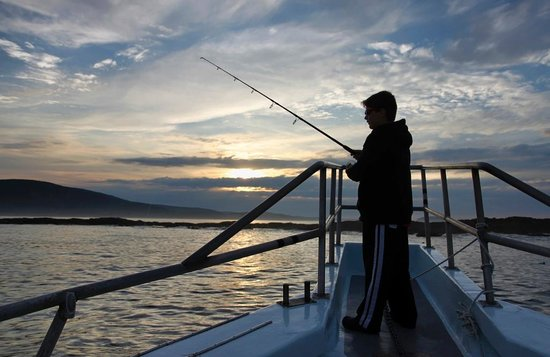 Islander Half-Day Fishing Trips: Sunset fishing