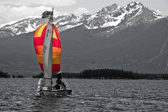 Windrider of the Rockies: Ten mile range by sailboat