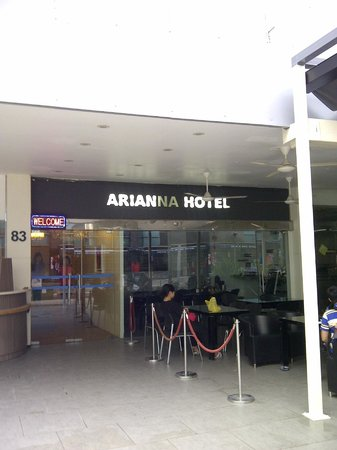 Arianna Hotel: Front view