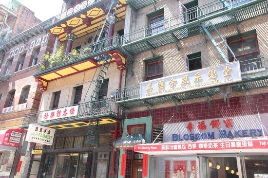 Wok Wiz Chinatown Tours : Street view