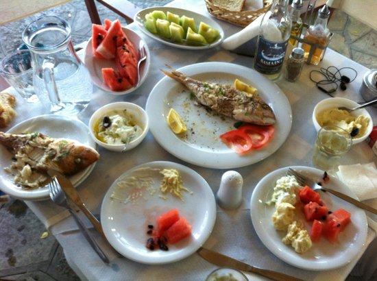 Kerkis Bay Hotel: The fishhh