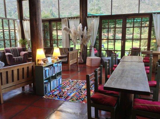 The Green House Peru: Spisestue og opholdsstue