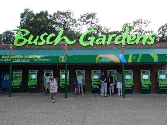 Entrance To Parking Get Your Printed Voucher Picture Of Busch Gardens Williamsburg