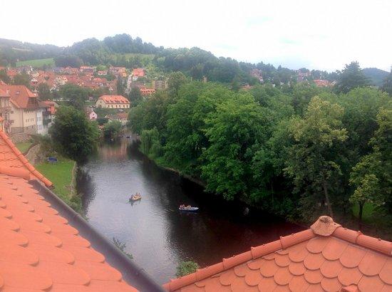 Hotel Garni Mysi Dira: View from room #33