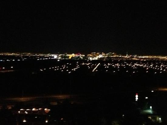 M Resort Spa Casino: view of strip at night