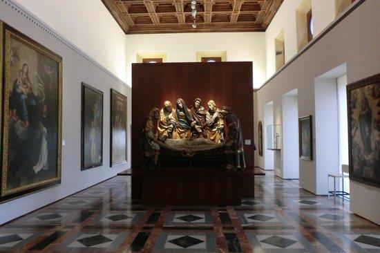 Museum of Fine Arts, Granada: Im Inneren