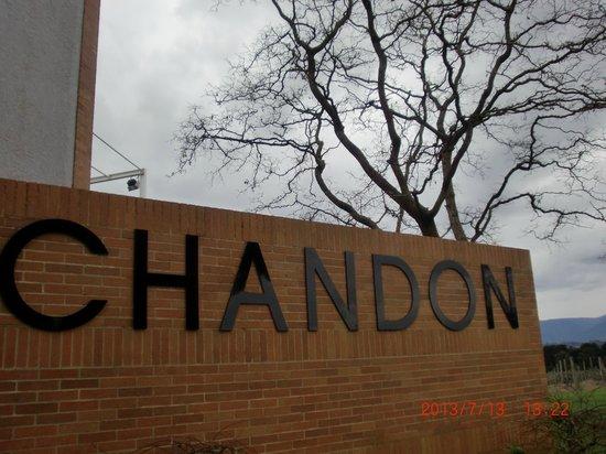 Domaine Chandon: ロゴがいい感じ