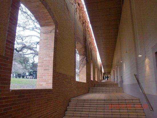 Domaine Chandon: 広い館内ですが、入口の一部しか入場しませんでした