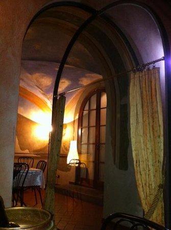 Antica Villa: affreschi