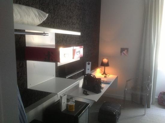 La Monnaie Art & Spa Hotel : chambre 117