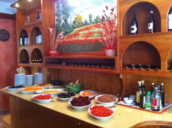 Hotel Lungomare: Buffet di verdure