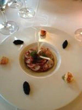 Restaurant Les Bories : homard sur compotée de fenouil