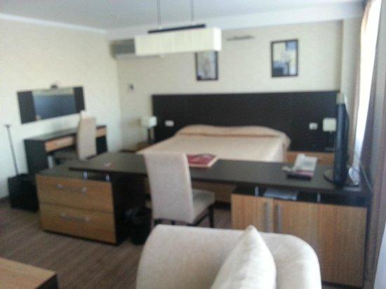 Hotel Vega: вид на кровать
