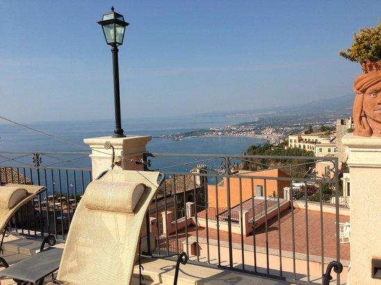 Casa Turchetti: Die herrliche Terrasse