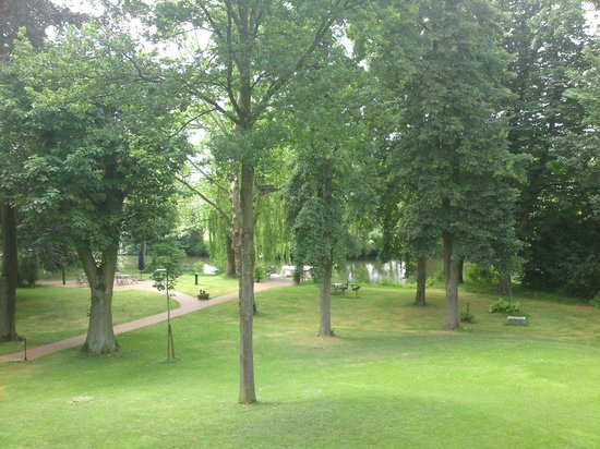 Romantik Hotel Hof zur Linde: Blick vom Balkon