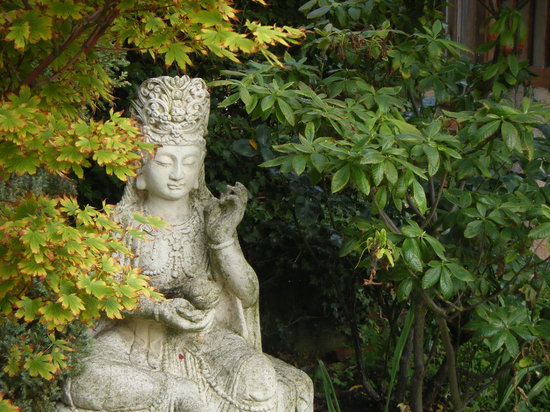 Pure Land Meditation Centre And Japanese Garden: Quan Yin Statue At Pureland