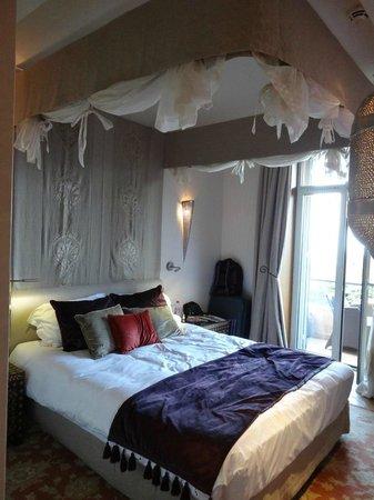 Hotel Tiara Yaktsa Côte d'Azur. : La literie