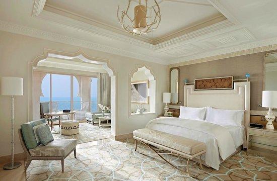 Waldorf Astoria Ras Al Khaimah: Junior Suite with balcony and sea view