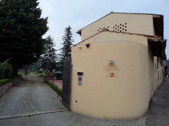 Casale dei Cento Acri : l'entrée
