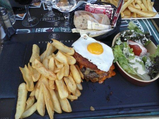 Potato burger picture of au bureau grenoble tripadvisor
