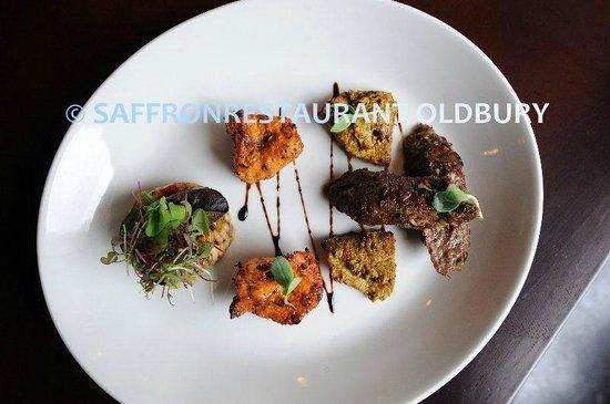 Saffron Restaurant: Mix Starters
