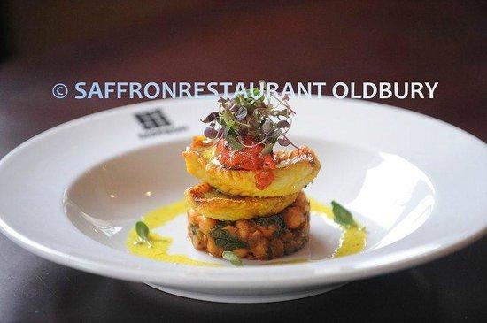 Saffron Restaurant: Red Mullet - Christmas special