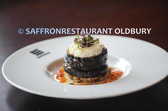Saffron Restaurant: Aubergine