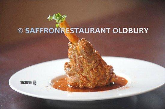 Saffron Restaurant: Lamb Shank