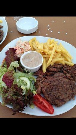 Tal-Kaptan: My rib eye steak