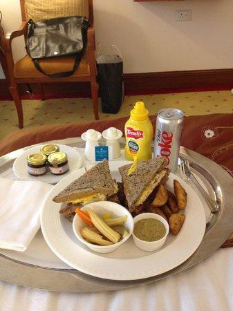 ITC Grand Central: room service