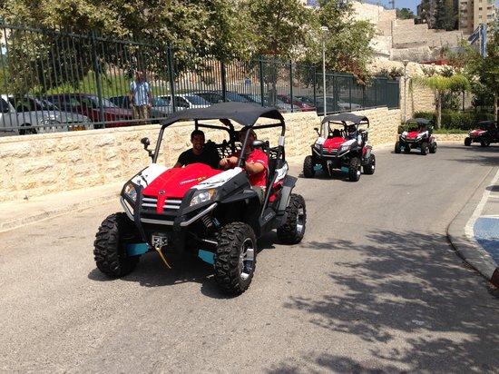 Jerusalem ATV Adventure Tours : The brand new Z6-EX