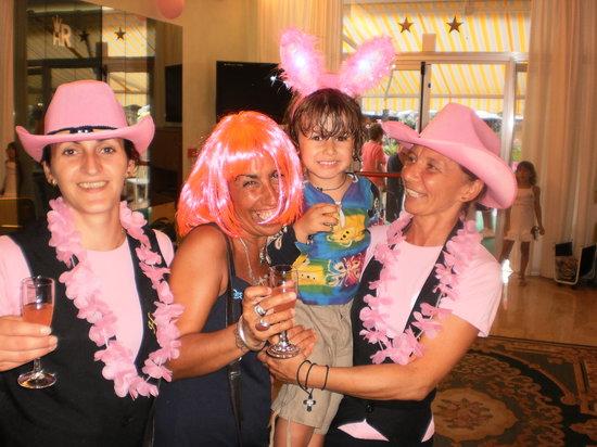 Hotel Rex: la notte rosa