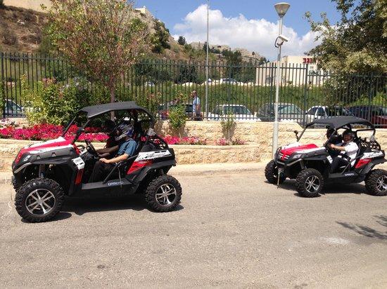 Jerusalem ATV Adventure Tours : On our way