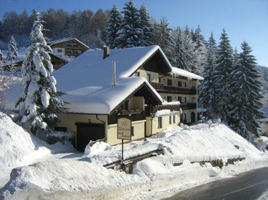 Villa Montara Bed & Breakfast : Winteransicht