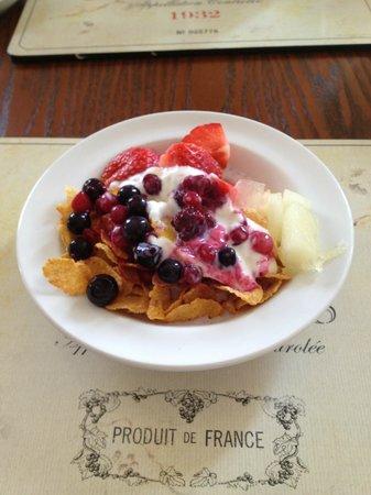 Ty Croeso Bed & Breakfast: Breakfast