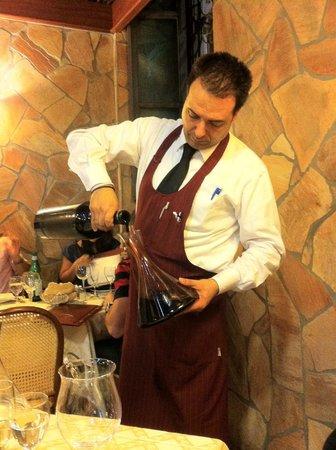 Brasserie Mediterranea: декантирование магнума