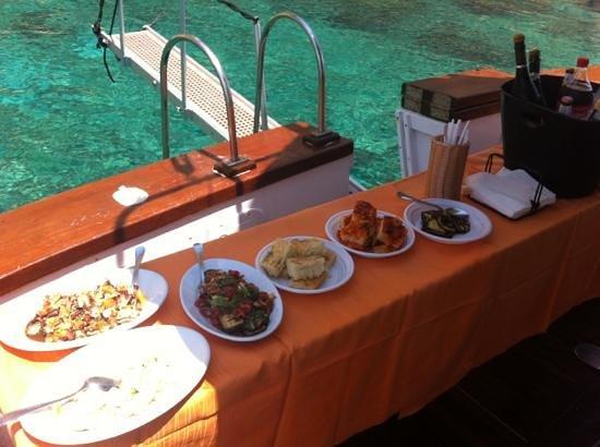 Hotel & Ristorante Nautic : pranzo in barca