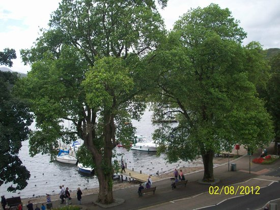 Waterhead Hotel: View from room