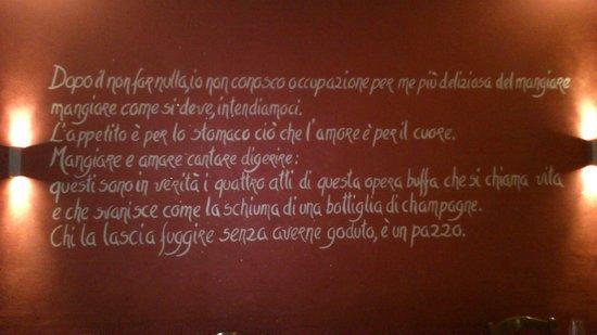 Etoile Restaurant: un pensiero filosofico