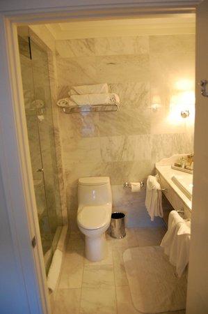 Garden Court Hotel: Bad Zimmer 307