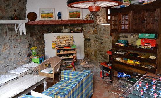 Sala de juegos para nios fotografa de Hotel O Remanso dos Patos
